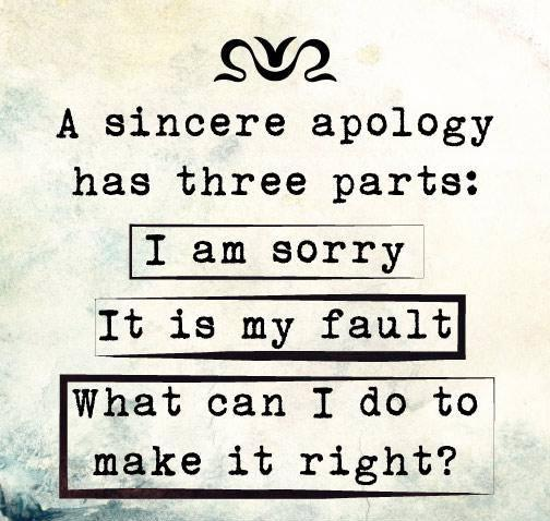 An Empty Apology